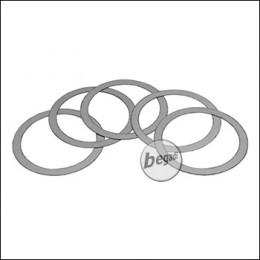 EPeS AR15 / M4 Deltaring Unterlegscheiben / Washers -Größe M-, 5er Pack (24,2x29,7mm - 0,1mm) [E205-M]