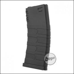 G&G M4 / M16 Polymer Midcap Magazin, schwarz (120 BBs)