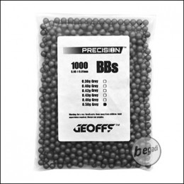 1.000 GEOFFS Precision  BBs 6mm 0,50g -grau-