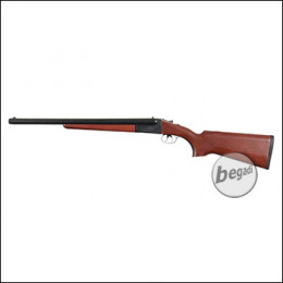 Haw San FS-0521 Double Barrel Shotgun inkl. 2 Hülsen -lange Version- (frei ab 18 J.)