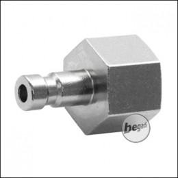 """Begadi HPA Adapter """"Männlich"""" mit G 1/8 Zoll Gewinde (Mini)"""