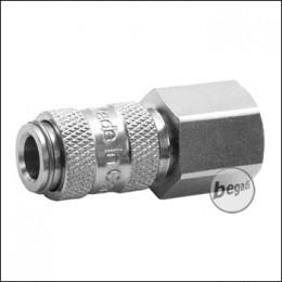 """Begadi HPA Adapter """"Weiblich"""" mit G 1/8 Zoll Gewinde (Mini)"""