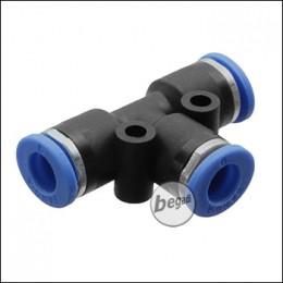 Begadi HPA T-Adapter für 3x 6mm Schlauch