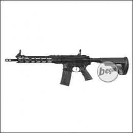 """ICS M4 CXP M.A.R.S. Carbine """"PRO SERIES"""" S-AEG, schwarz (frei ab 18 J.) [ICS-306]"""