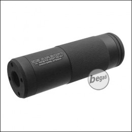 ICS Shadow Silencer, kurze Version, 100mm - schwarz [AC-03]