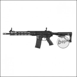 ICS M4 CXP M.A.R.S. Carbine S-AEG, schwarz (frei ab 18 J.) [ICS-302]