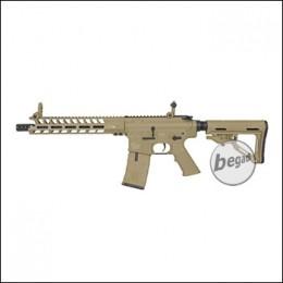 ICS M4 CXP-X S Peleador SBR S-AEG, TAN (frei ab 18 J.) [IMT-441-1]