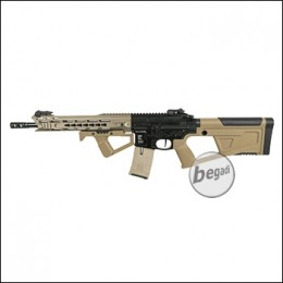ICS M4 CXP M.A.R.S. Carbine S-AEG, bicolor, mit SRU SR-Q Kit in TAN (frei ab 18 J.) [IMD-302-1-SRU-TN]