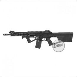 ICS M4 CXP M.A.R.S. Carbine S-AEG, schwarz, mit SRU SR-Q Kit in schwarz (frei ab 18 J.) [ICS-302-SRU-BK]