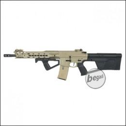 ICS M4 CXP M.A.R.S. Carbine S-AEG, TAN, mit SRU SR-Q Kit in schwarz (frei ab 18 J.) [IMT-302-1-SRU-BK]