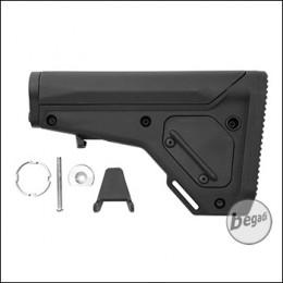 Kublai M4 Adjustable Flex Stock -schwarz-