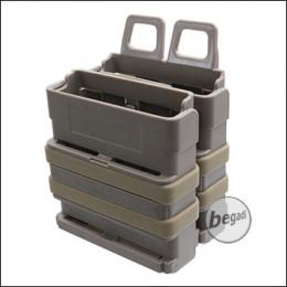 KYOU FAST MAG / Hartschalenmagazintasche für G3/M14 etc. (7,62mm) - TAN