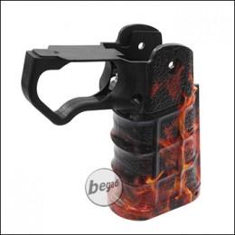 "LayLax Nineball 4D Custom Grip / Griffstück ""FIRE"" für TM/WE/KJW HiCapa"