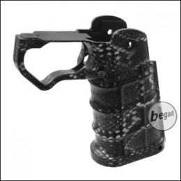 "LayLax Nineball 4D Custom Grip / Griffstück ""SNAKE"" für TM/WE/KJW HiCapa"