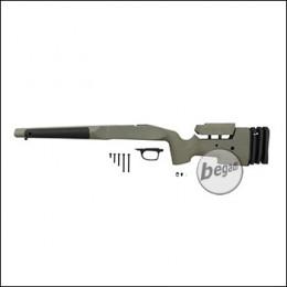 Maple Leaf MLC S1 VSR Stock aus Nylon Fiber (M-LOK, einstellbar) -olive-