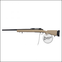 Modify MOD 24 -MANCAFT HPA- Sniper Rifle, TAN (frei ab 18 J.)