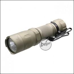 """Opsmen """"FAST 301"""" Taktische Taschenlampe mit 800 Lumen Cree LED -TAN-"""