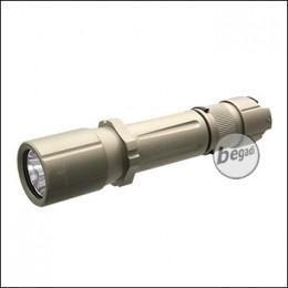 """Opsmen """"FAST 501"""" Taktische Taschenlampe mit 1000 Lumen Cree LED -TAN-"""