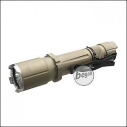 """Opsmen """"FAST 501A"""" Taktische Taschenlampe mit 1000 Lumen Cree LED -TAN-"""