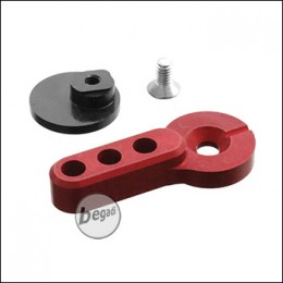 Retro Arms M4 / AR15 CNC Fire Selector Type A -rot-