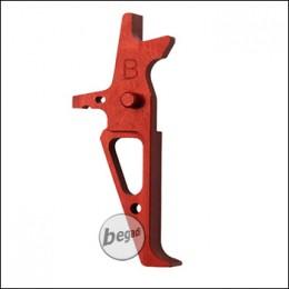 Retro Arms M4 / AR15 CNC Trigger Type B -rot-