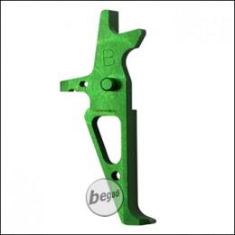 Retro Arms M4 / AR15 CNC Trigger Type B -grün-