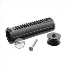 Retro Arms SR25 / L85 Vollzahn Piston mit 19 Stahlzähnen