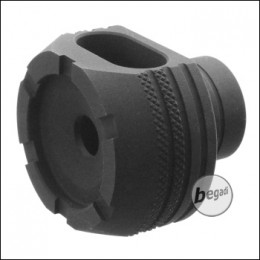 Retro Arms CNC Flashhider Type D -schwarz-