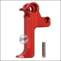 Retro Arms CNC Alu Trigger für Cyma CM.122 + CM.127 AEPs -rot-
