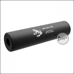 "SHS Silencer 110mm ""Navy Seal Team"" CW/CCW - schwarz"