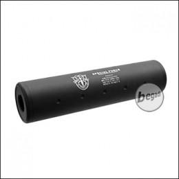 "SHS Silencer 110mm ""Special Force"", Typ 2, CW/CCW - schwarz"