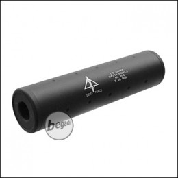 """SHS Silencer 110mm """"US Army Delta Force"""" CW/CCW - schwarz"""