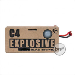 Precision Mechanics C4 Blaster Pro (mit Bewegungsmelder & Bluetooth) < 0,5 J.