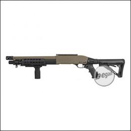 """Secutor Velites """"Ferrum"""" Metall Shotgun -TAN- (frei ab 18 J.)"""