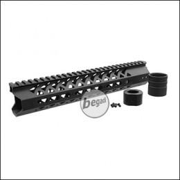 """Begadi Modular Handguard System 10"""" / 279mm, für (S)AEGs mit EU Gewinde (Version 2)"""