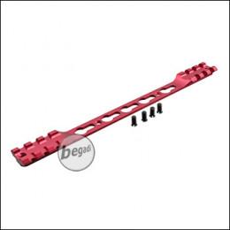 Double Picatinny & KeyMod Rail für Begadi Modular Handguard System - rot