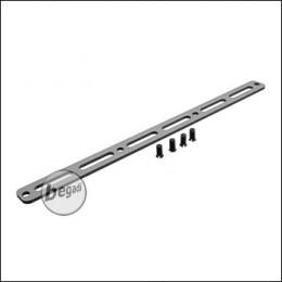M-LOK Rail für Begadi Modular Handguard System - grau