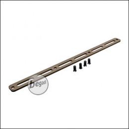 M-LOK Rail für Begadi Modular Handguard System - TAN