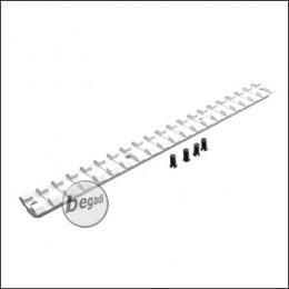 Pure Picatinny Rail für Begadi Modular Handguard System - silber