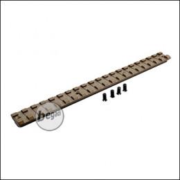 Pure Picatinny Rail für Begadi Modular Handguard System - TAN