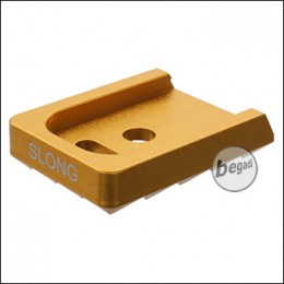SLONG G17 / G19 Attack Mag Base -goldfarben-