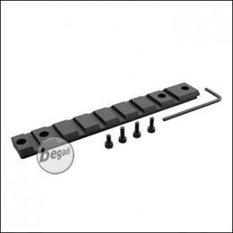 SLONG Aluminium Rail -schwarz- für Marui (TM) VSR 10 und Klone (Well MB03)
