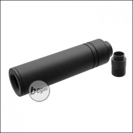 SLONG Slim Silencer 106x27mm, inkl. GBB Silencer Adapter -blank-