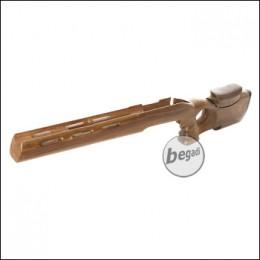 Taring Carving Echtholz Schaft für VSR / MB03 - Design 4 (Hunter)