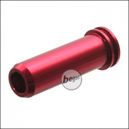 TFC Essential CNC Alu Nozzle mit Doppel O-Ring -24,25mm- (rot)