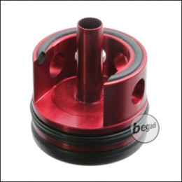 TOPMAX CNC Alu V2 Cylinderhead mit Sorbo Pad & QUAD-Ring - schwarz / hart -