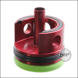 TOPMAX CNC Alu V2 Cylinderhead mit Sorbo Pad & QUAD-Ring - grün / weich -