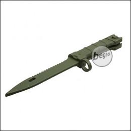 UFC Übungsmesser / Dekomesser Typ AK100 / 907 - olive [UFC-AR-102OD]