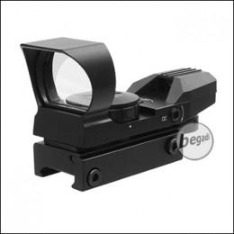 UFC HD106 Multi Reticle Reflex Reddot, schwarz