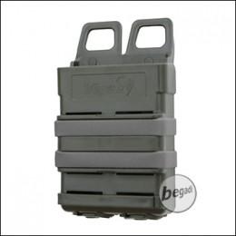 VIPER FAST MAG / Hartschalen Magazintasche für 1x M4/M16 etc. (5,56mm) - olive / grau